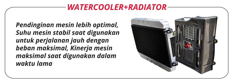 Nozomi Azabu 200 EC WCR Watercooler and Radiator