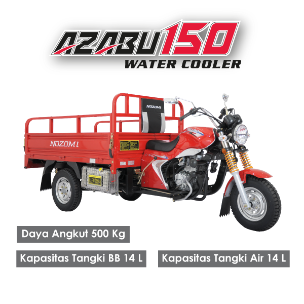 Nozomi Motor Roda Tiga Azabu 150 Water Cooler