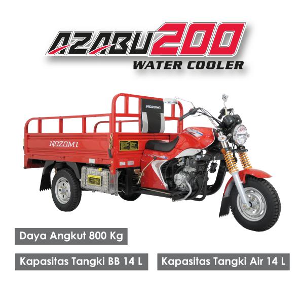 Nozomi Azabu 200 LC Water Cooler Radiator