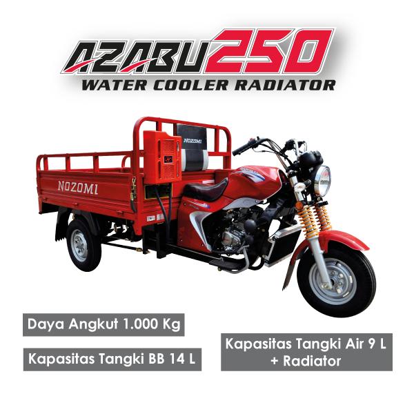 Nozomi Azabu 250 Water Cooler Radiator