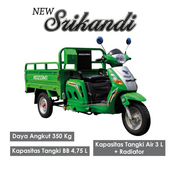 Nozomi Motor Roda Tiga New Srikandi