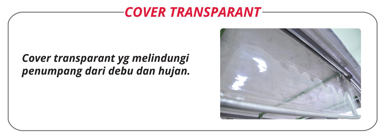 Nozomi Motor Cover Transparent