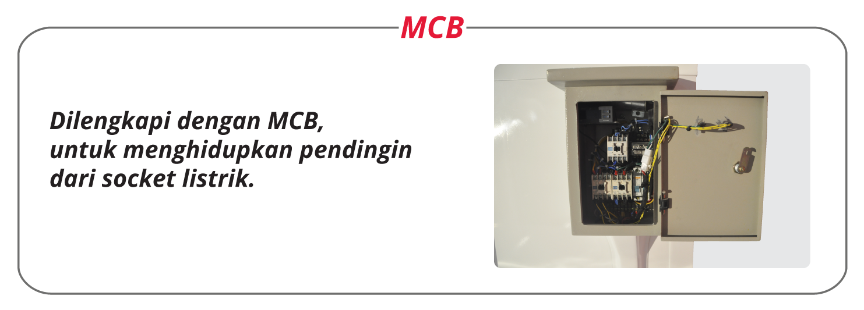 Nozomi Motor Cool Box Chiller LC MCB