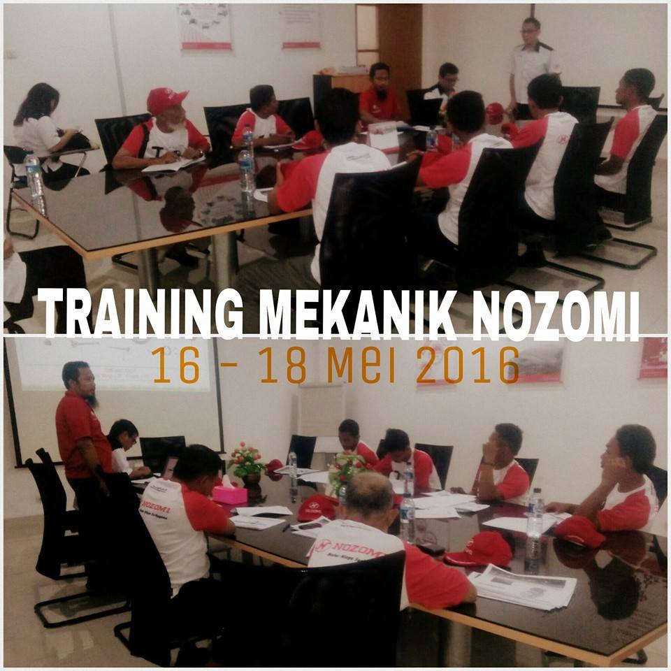 TRAINING MEKANIK R3 NOZOMI