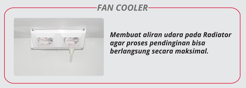Nozomi Motor Cool Box Chiller LC Fan Cooler