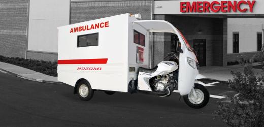 Nozomi Motor Roda Tiga Ambulance Azabu 200, 250 Water Cooler Radiator