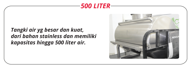 Tangki Stainless 500 liter