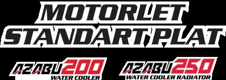 Motorlet Standart Plat Azabu 200, 250 Water Cooler Radiator