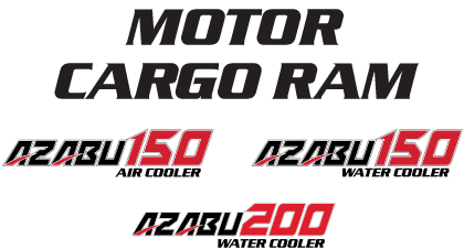 Motor Cargo Ram Azabu 150, 200 Air Cooler water Cooler