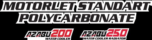 Nozomi Motorlet Standart Polycarbonate Azabu 200, 250 Water Cooler Radiator