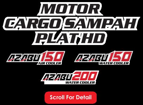Nozomi Motorlet Deluxe LC Azubu 200, 250 Water Cooler Radiator