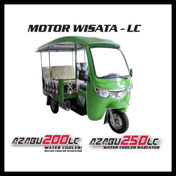 Nozomi Motor Wista LC Azabu 200, 250 Water Cooler Radiator