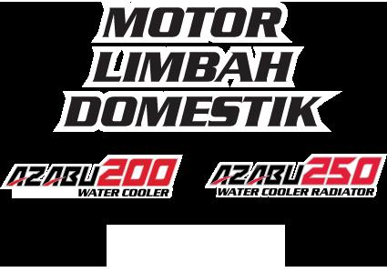 Nozomi Motor Limbah Domestik Azabu 200, 250 Water Cooler Radiator