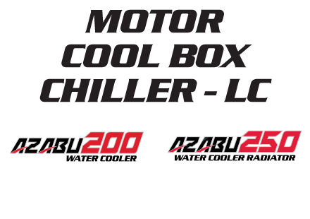 Nozomi Motor Cool Box Chiller LC Azabu 200, 250 Water Cooler Radiator