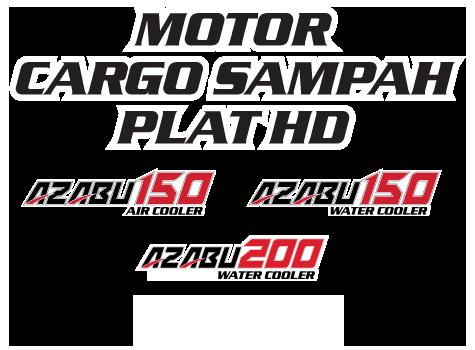 Nozomi Motor Cargo Sampah Plat HD Azabu 150, 200 Water Cooler and Air Cooler