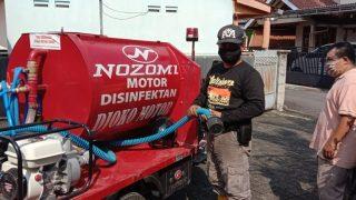 Motor Roda Tiga Nozomi Bersama Wakil Bupati Banyumas CSR di Purwokerto
