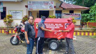Serah Terima Motor Roda Tiga Nozomi Desa Kampili & Romanglasa Kabupaten Gowa