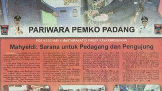 Serah Terima Unit Motor Roda Tiga Nozomi Untuk Dinas Perdagangan Kota Padang