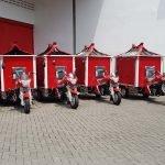 Serah Terima Motor Roda Tiga Nozomi ke Pemerintah Kota Solo
