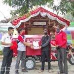 Serah Terima Motor Roda Tiga Nozomi ke Desa Majannang